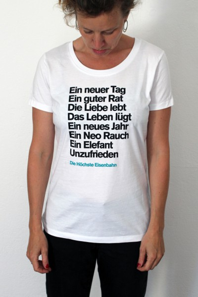 Die Höchste Eisenbahn - Unzufrieden - Shirt - Frauen