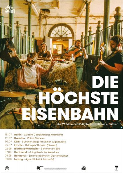 Die Höchste Eisenbahn - StallWaldKirche - Poster