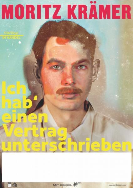 Moritz Krämer - Vertrag - Poster