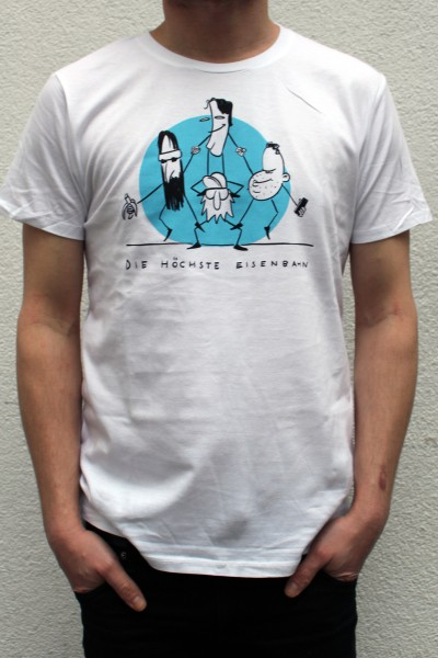 Die Höchste Eisenbahn - Comic- Shirt - Männer
