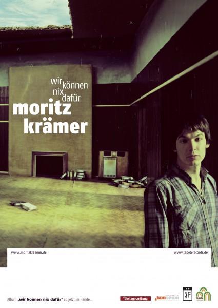 Moritz Krämer - Wir können nix dafür - Poster
