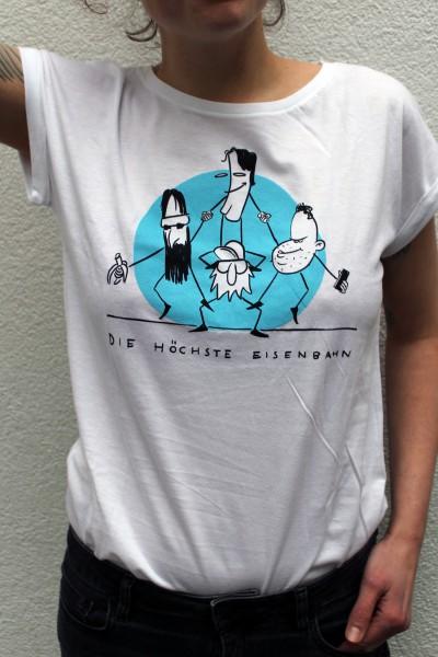 Die Höchste Eisenbahn - Comic- Shirt - Frauen