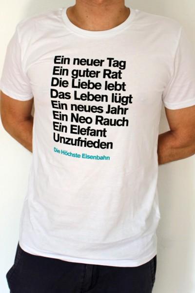 Die Höchste Eisenbahn - Unzufrieden - Shirt - Männer