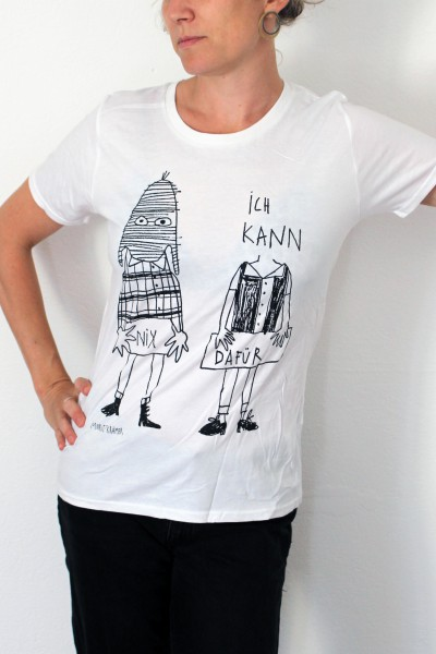 Moritz Krämer - Wir können nix dafür - Shirt - Frauen